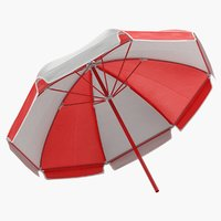 3D open umbrella model