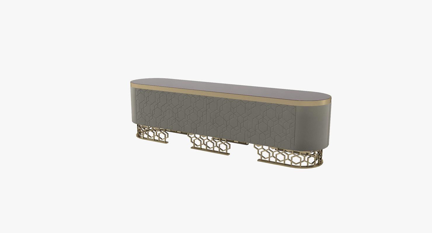 longhy vicky sideboard 3D model