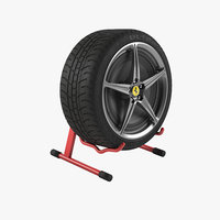 3D tire speaker model