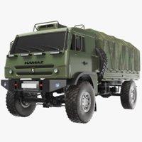 KAMAZ Army Truck