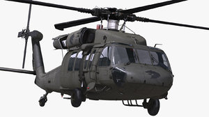 3D sikorsky uh-60 black hawk