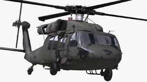 3D sikorsky uh-60 black hawk