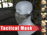 tactical mask model