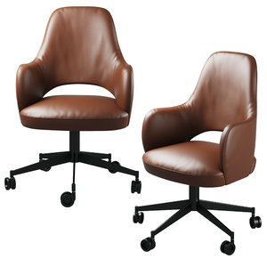 colette office chair baxter 3D