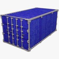 3D model cargo container