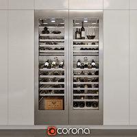 wine cooler gaggenau rw 464