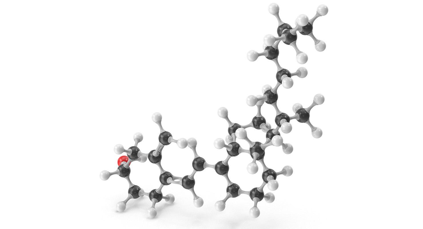 cholecalciferol molecular d model