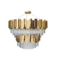 3D zhongshan laiting big chandeliers model