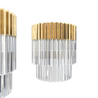 3D corbett lighting 220-12 sconce