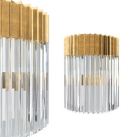 3D corbett lighting 220-12 sconce model