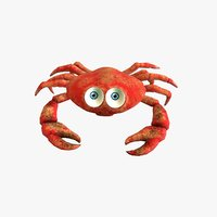 3D crab rigged
