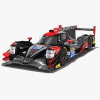3D tds racing oreca 07 model