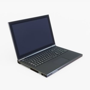3D laptop generic model