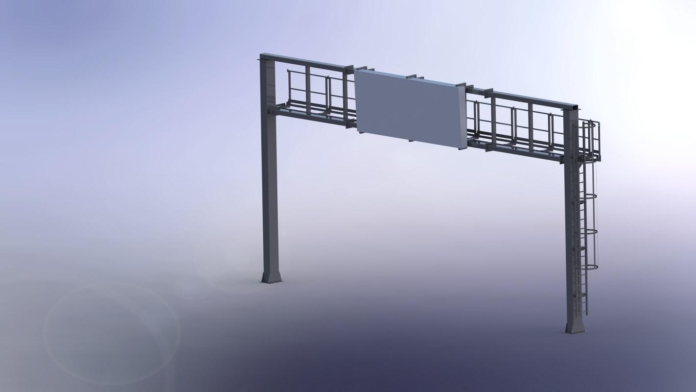 portal frame 3D