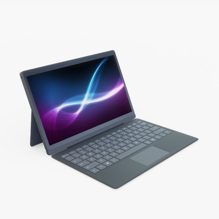 laptop generic 3D model