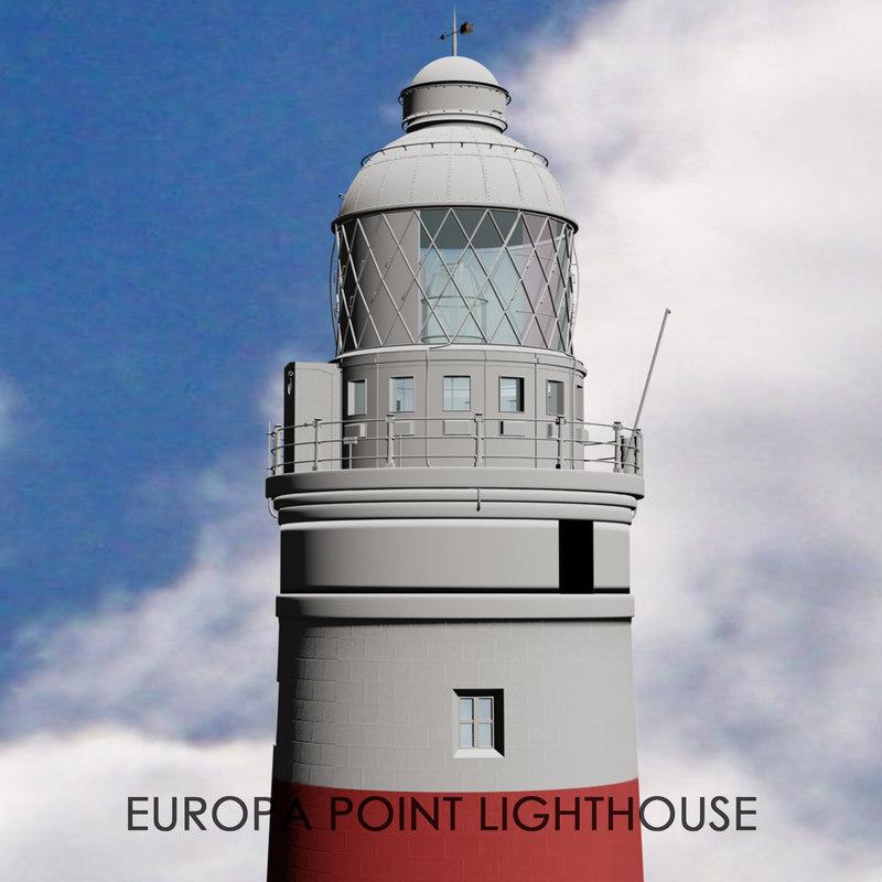 europa point lighthouse gibraltar model