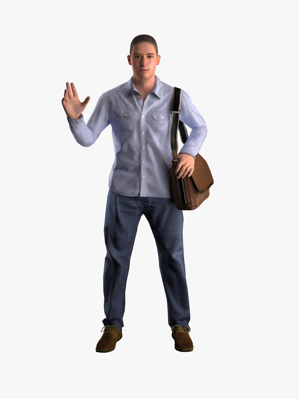 william - business1 3D model