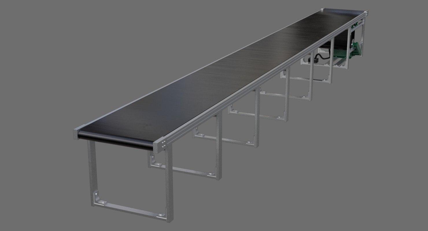 conveyor belt 1a 3D