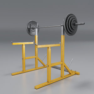 barbell stand model