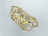 Oriental long ring