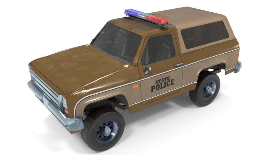 3D suv pick ups model