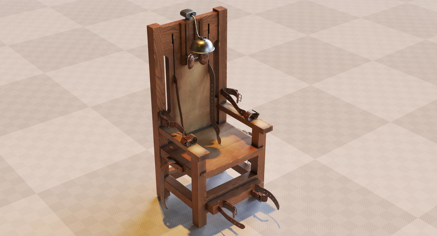 electric chair 3D