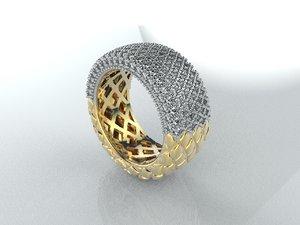 3D 3 jewellery model
