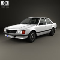3D holden commodore 1981