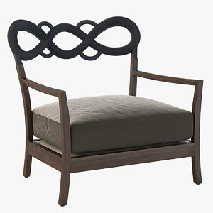 3D model lounge