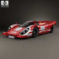porsche 917 k 3D model