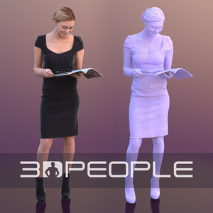 3D model scanned