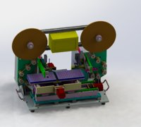 3D model laminating machine