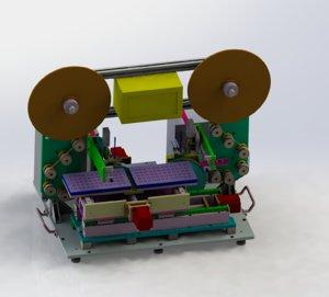 3D model laminating machine