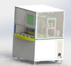 3D model ccd lamination machine