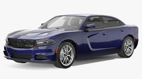 3D dodge charger