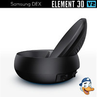 samsung dex 3D model