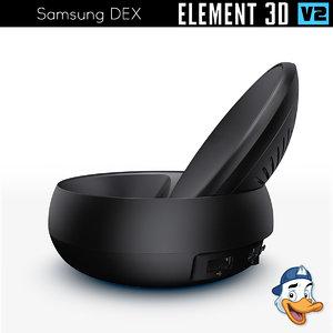 samsung dex 3D model