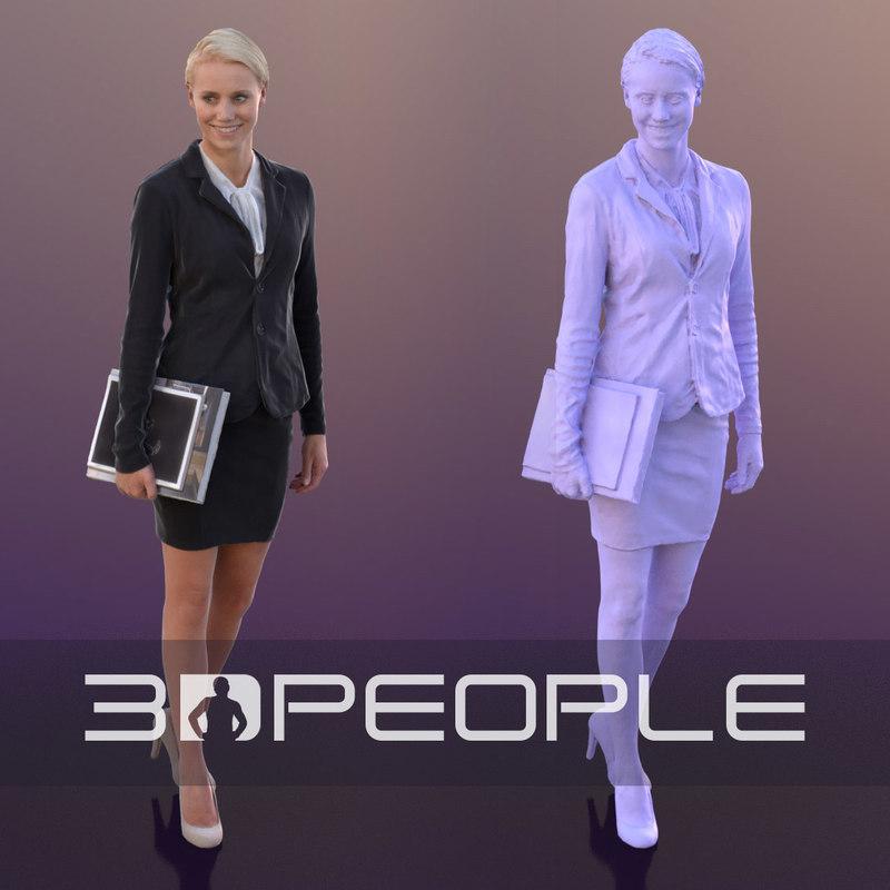 scanned 3D model