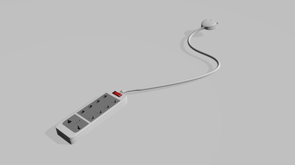 3D power electrical strip connector