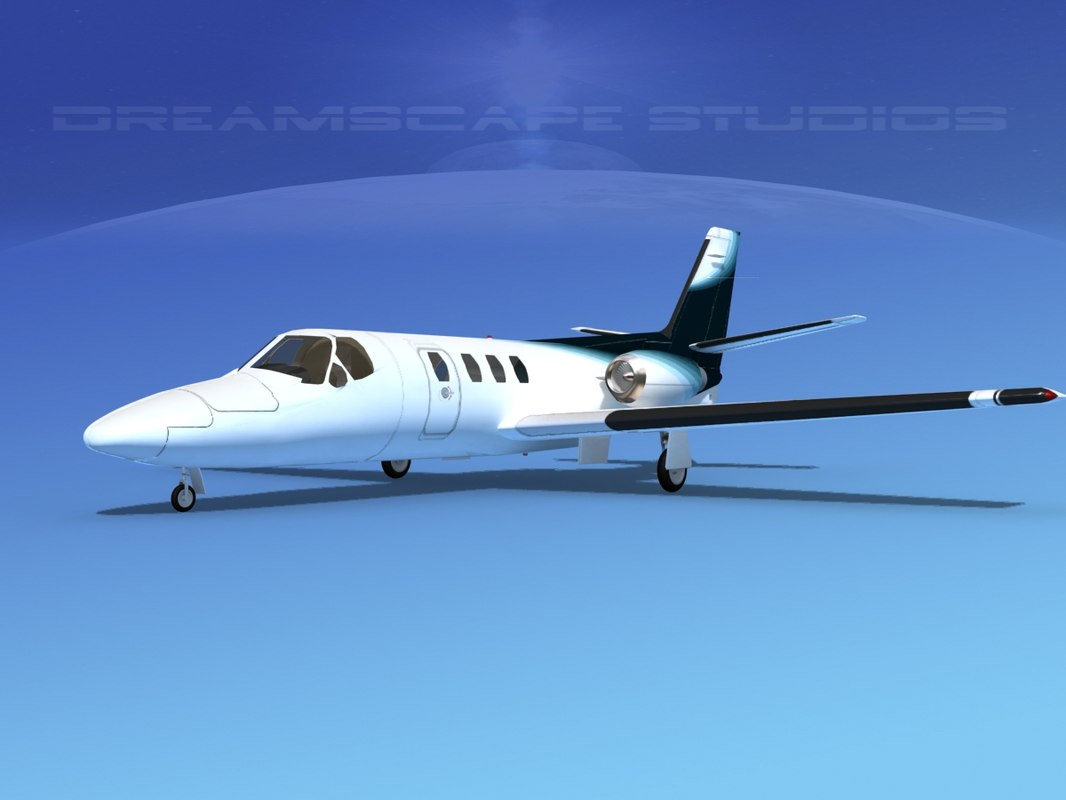 3D scale cessna citation 500