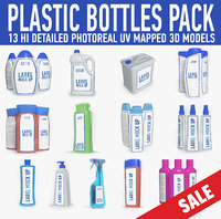 Plastic bottle pack