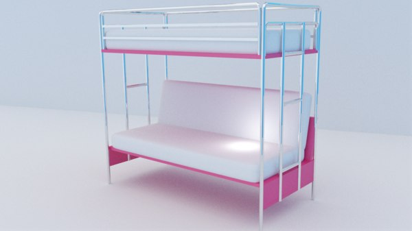bed sofa 3D model