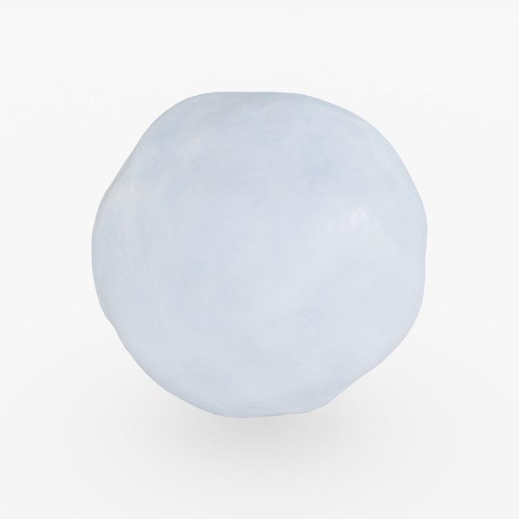 snowball snow ball 3D