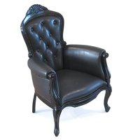 3D moooi smoke armchair