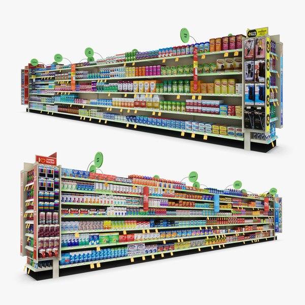 3D model aisle 15 -