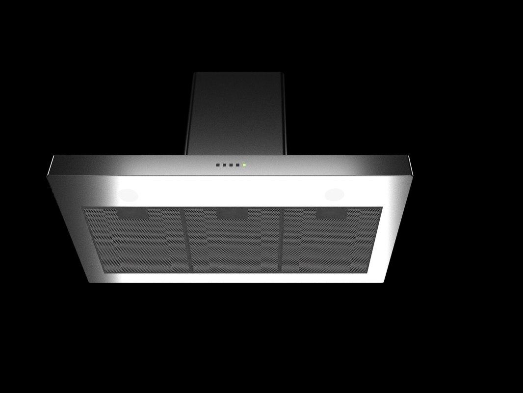 cooker hood 3D