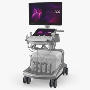 3D ultrasound scanner toshiba aplio model
