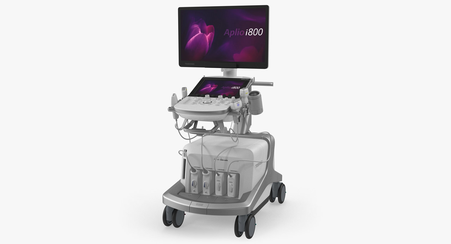 3D ultrasound scanner toshiba aplio model