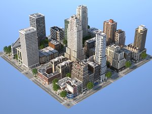 midtown city 3D