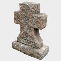 3D tombstone stone model